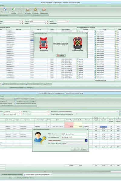 Клиент-серверная система «Зерновой логистический центр»
